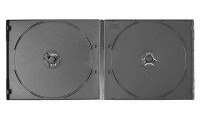 0mm Double Black Short DVD Case