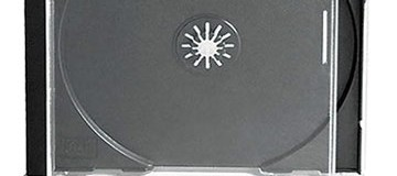 10mm Single Black CD Jewel Case