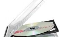 3 Discs Black CD Case