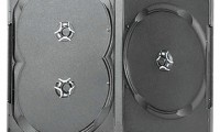 3 Discs Black DVD Case