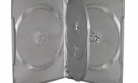 4 Discs Black DVD Case