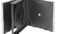 4Discs Black CD Case