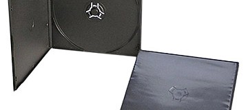 5mm Single Black Short DVD Case