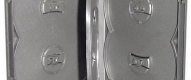 6 Discs Black DVD Case