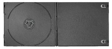7mm Single Black Short DVD Case