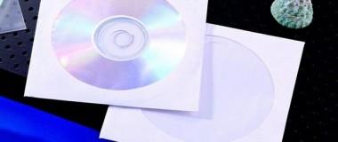Paper CD Envelope White