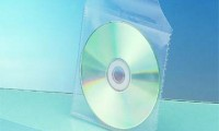 Transparent Plastic CD Envelope